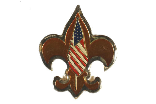 Tenderfoot American Flag Pin
