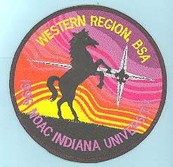 1996 NOAC Western Region Jacket Patch