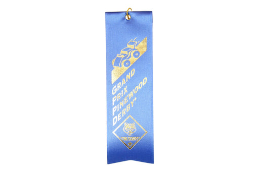 Award - Grand Prix Pinewood Derby Ribbon