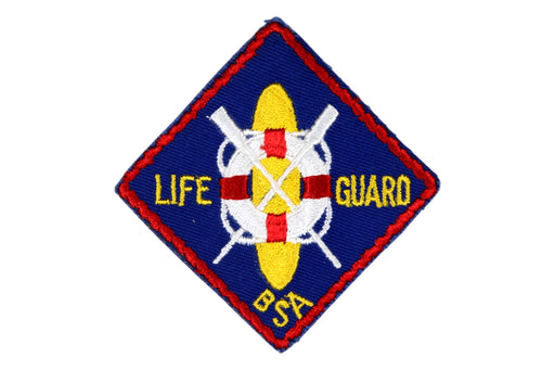 BSA Life Guard Patch 1960s