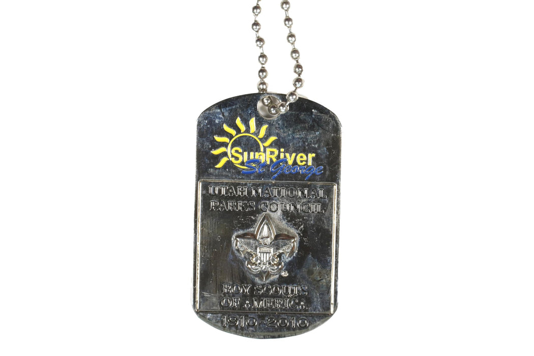 100th Southern Utah Centennial Celebration Dog Tag