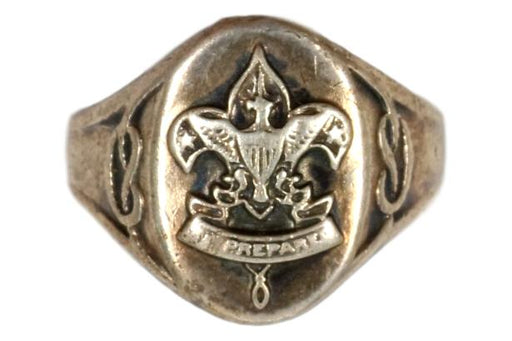 Boy Scout Ring - Sterling Silver