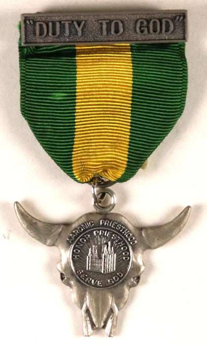 Duty to God Award Medal LDS Type 4
