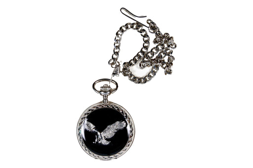 Eagle Design Pocket Watch - Native U.S.A.