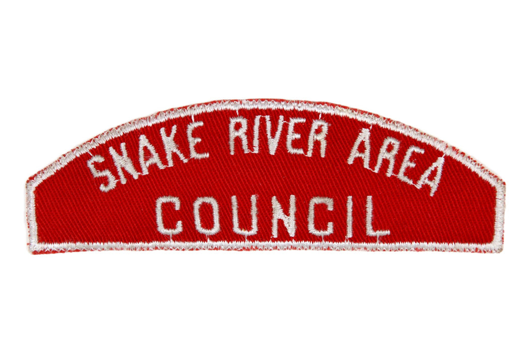 Snake River Area Red and White Council Strip
