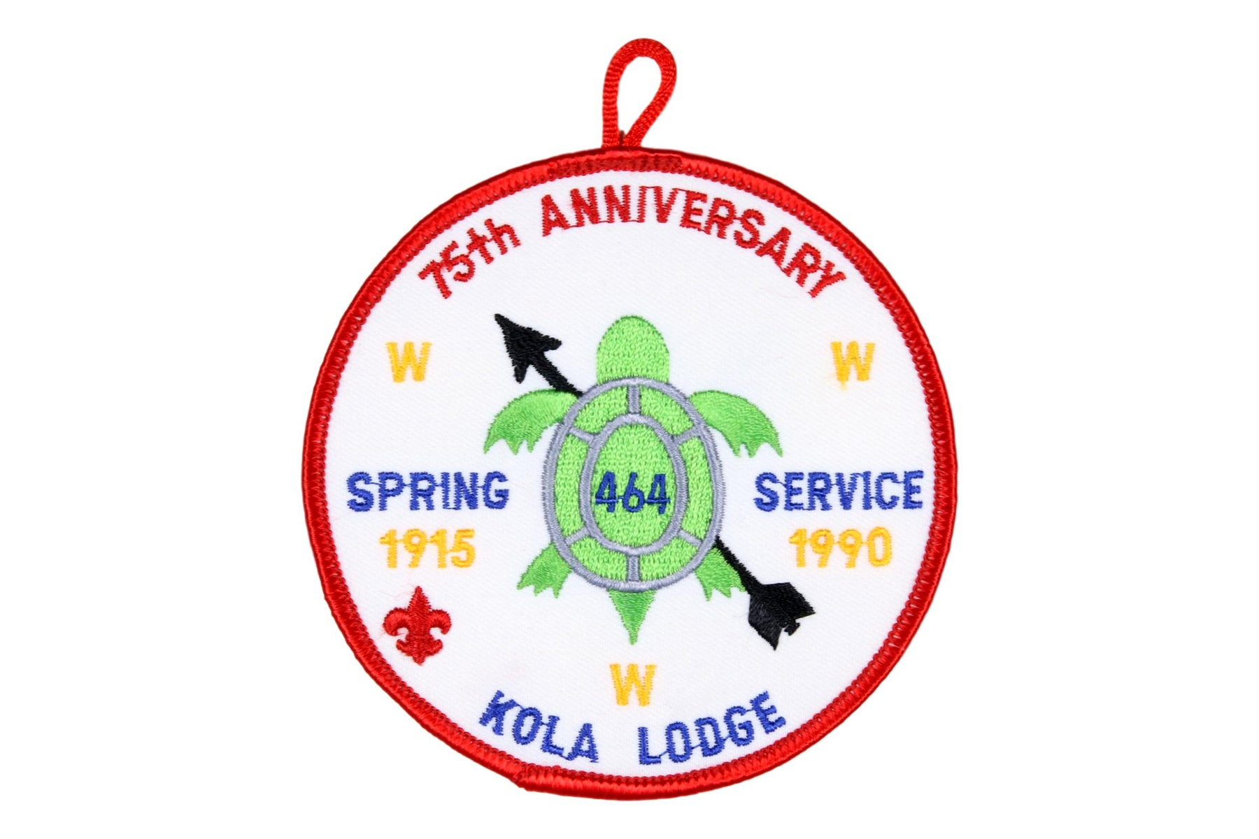 Lodge 464 Patch eR1990-2a