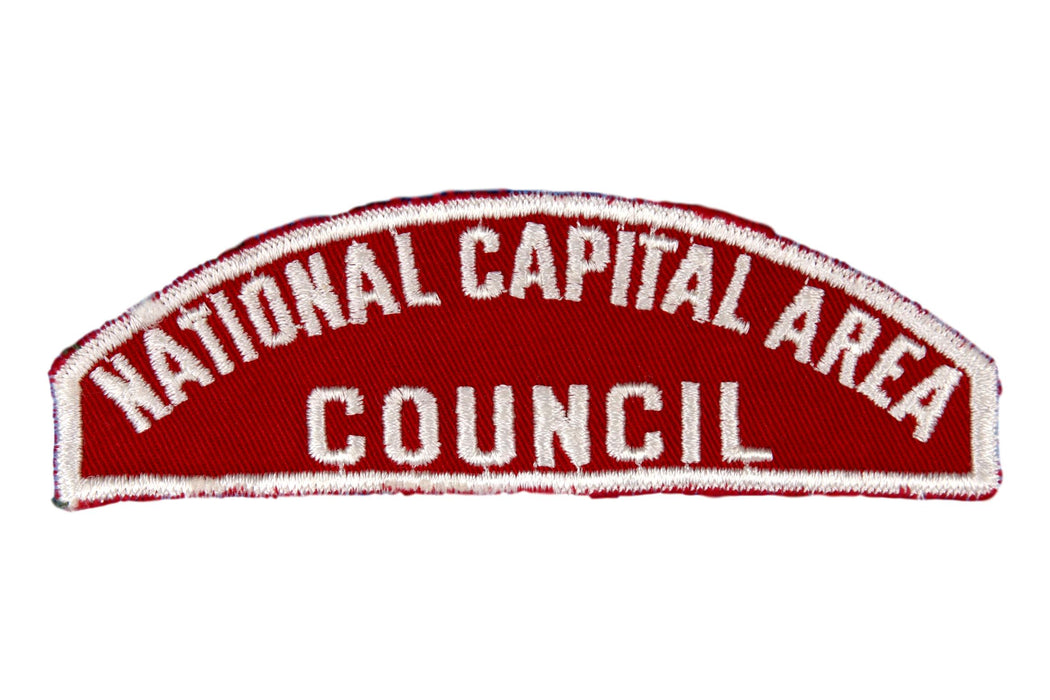 National Capital Area Red and White Council Strip