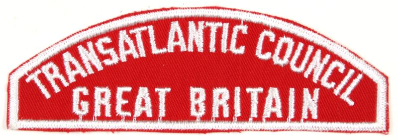 Transatlantic - Great Britain Red and White Council Strip
