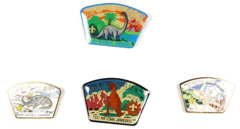 Utah National Parks JSP 1997 NJ Pin Set