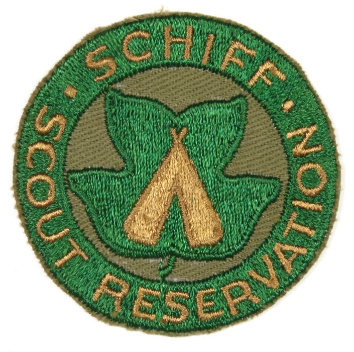 Schiff Scout Reservation Patch on Tan