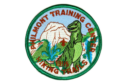 1995 Philmont Hiking Trails Patch