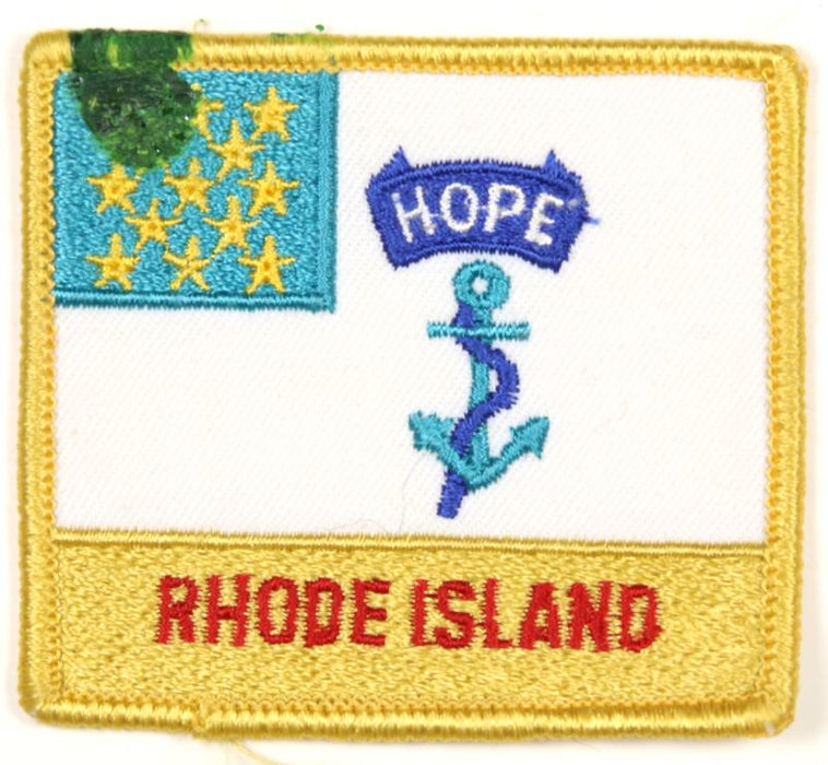 1981 NJ Subcamp Patch Rhode Island
