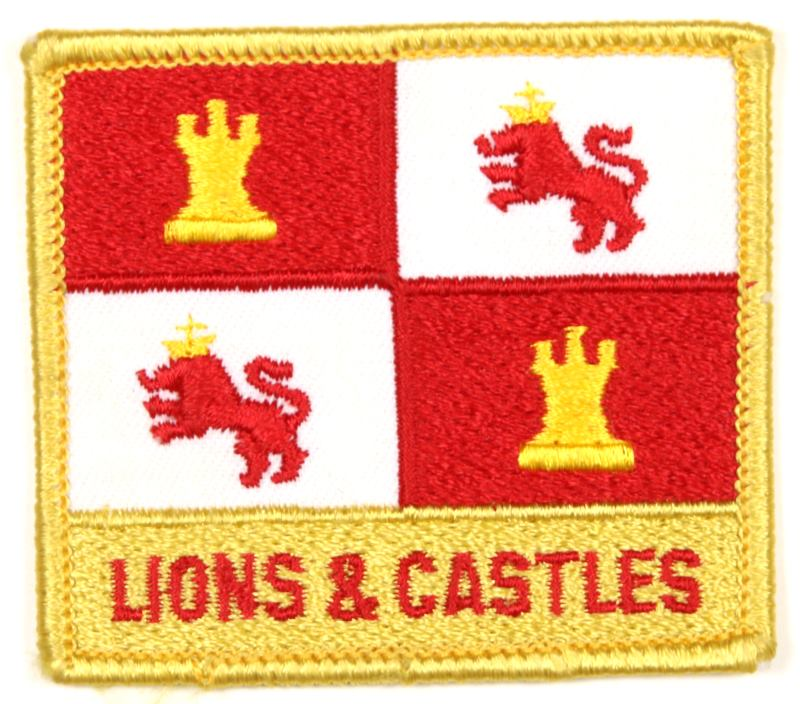 1981 NJ Subcamp Patch Lions & Castles