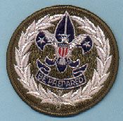 Council Commissioner Patch 1960s