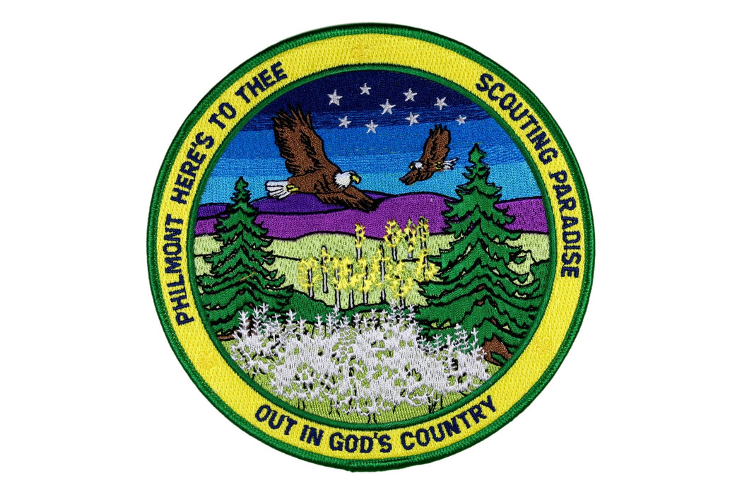 Philmont Hymns Jacket Patch