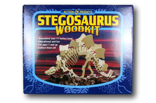Stegosaurus Wood Kit