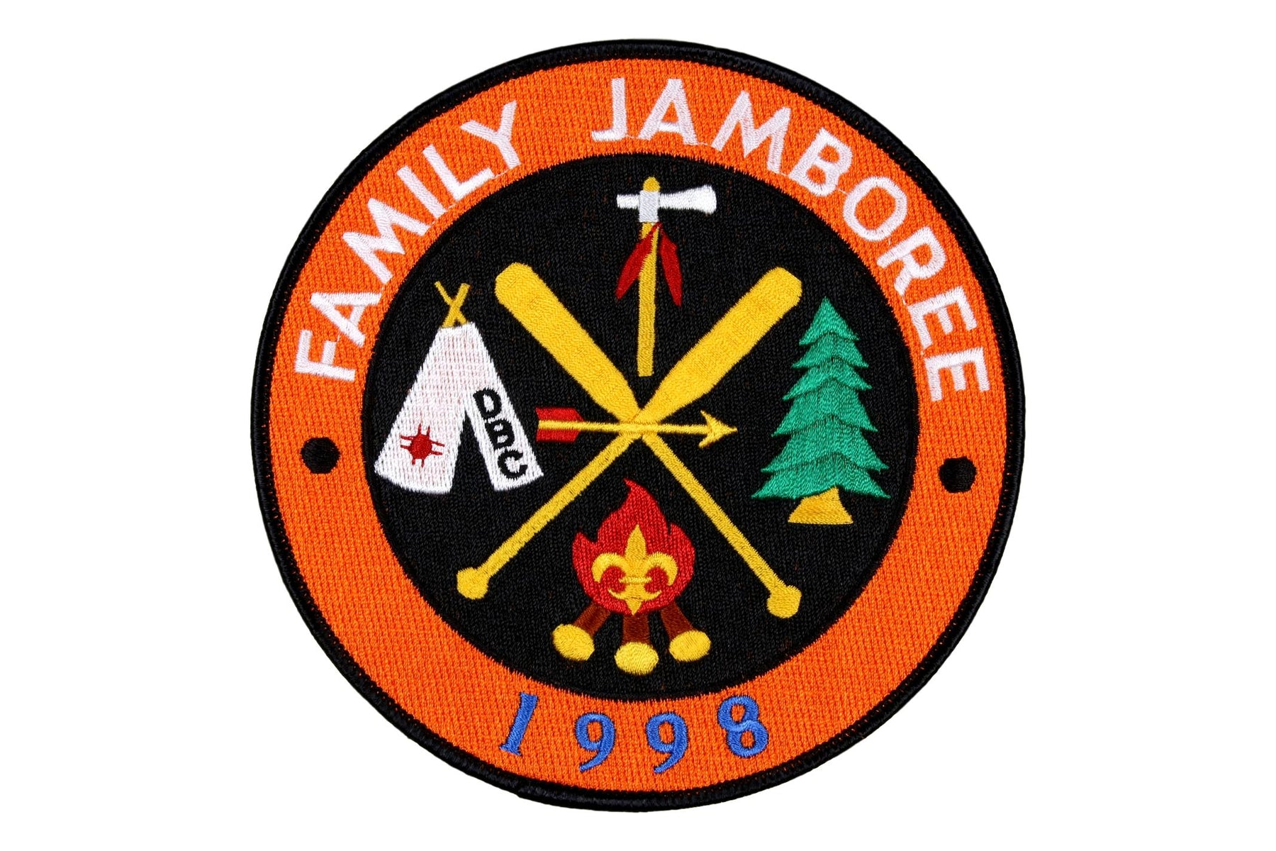 Family Jamboree 1998 Jacket Patch