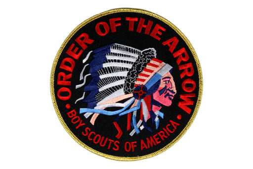 Order of the Arrow Jacket Patch Gold Mylar Border