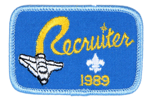 Recruiter Patch 1989