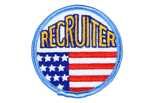Recruiter Patch Flag Design