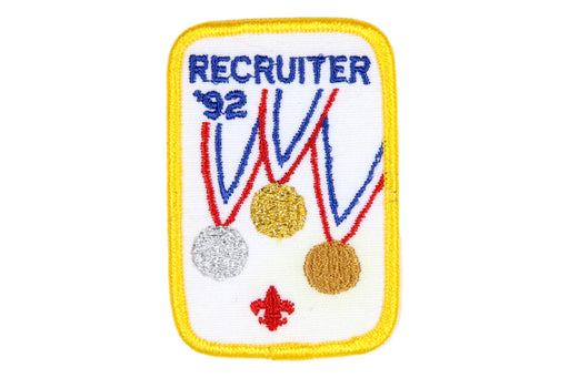 Recruiter Patch 1992