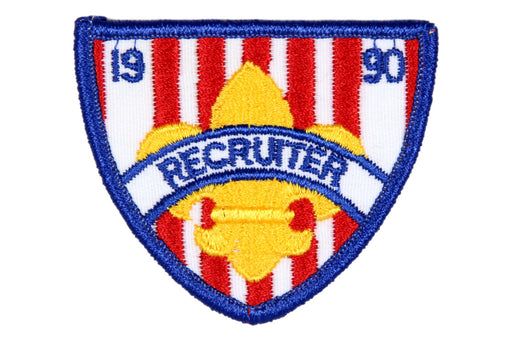 Recruiter Patch 1990