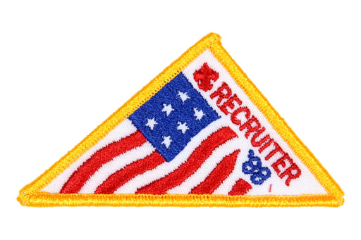 Recruiter Patch 1988