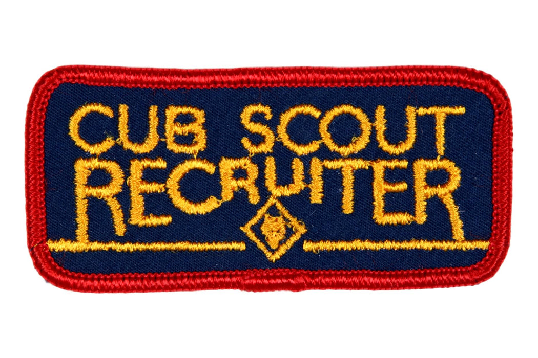 Recruiter patch