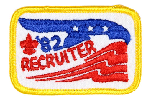 Recruiter Patch 1982