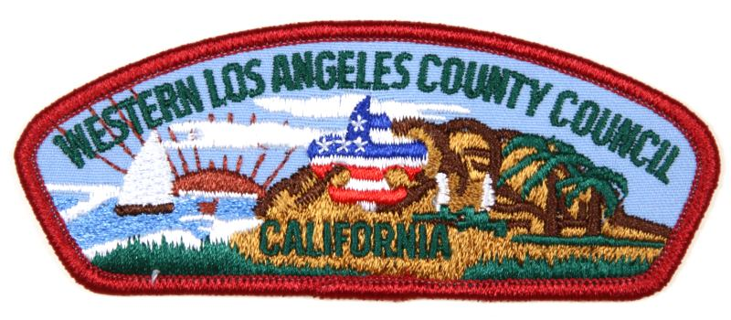 Western Los Angeles County CSP T-2 Plastic Back