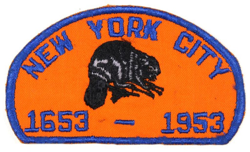 1953 New York City 300th Anniversary Patch