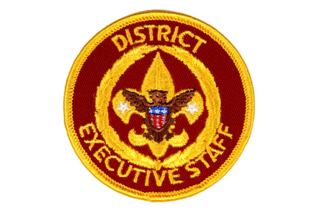 District Executive Staff Patch