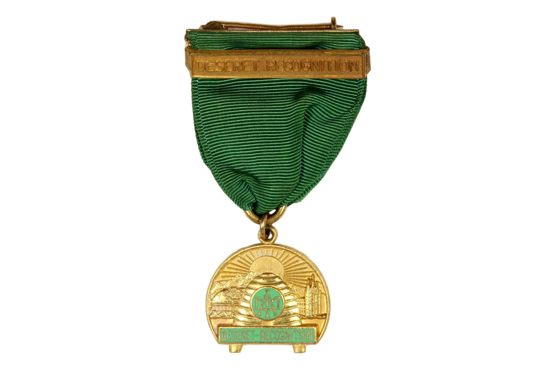 LDS Deseret Recognition Medal Type 2A