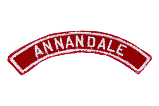 Annandale Red and White City Strip