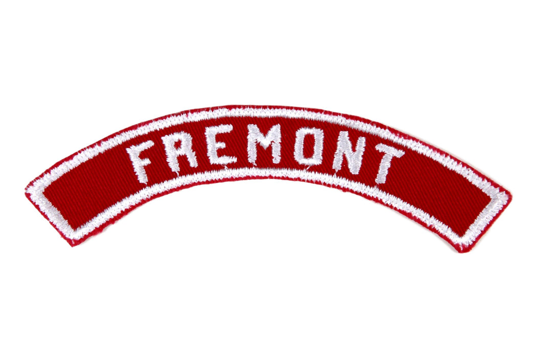 Fremont Red and White City Strip