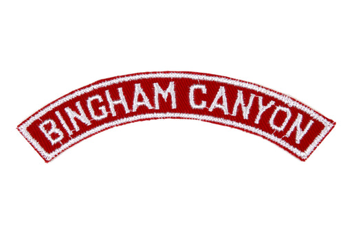 Bingham Canyon Red and White City Strip