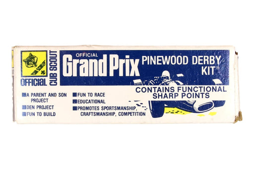 !!!!! Official Pinewood Derby Car Kit Older Style