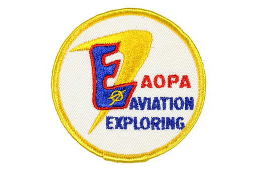 Aviation Exploring Patch AOPA