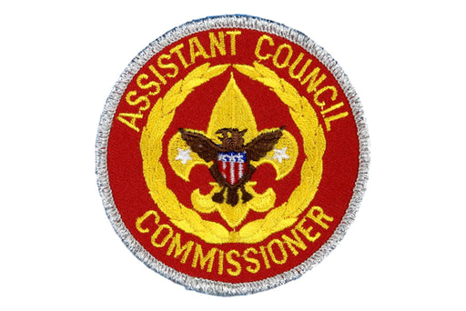 Assistant Council Commissioner Patch