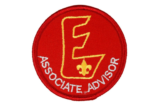Associate Advisor Patch Large E White Letters