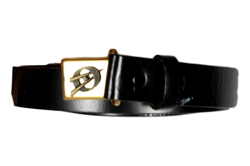 Explorer Circle V Leather Belt and Buckle