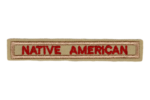 Native American Interpreter Strip Tan