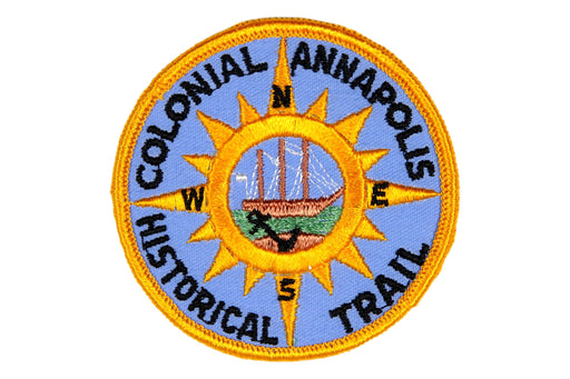 Colonial Annapolis Historical Trail Patch