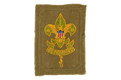 Assistant Scoutmaster Patch 1920s - 1930s Line in the Crown