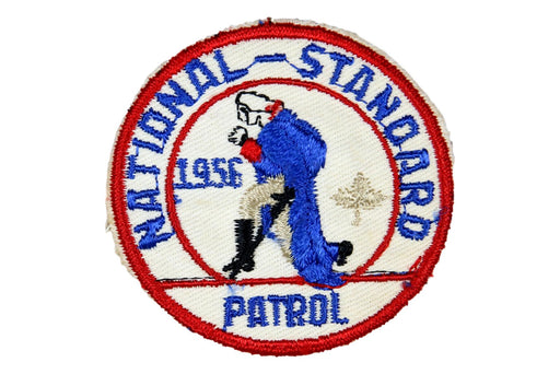 1956 National Standard Patrol Patch