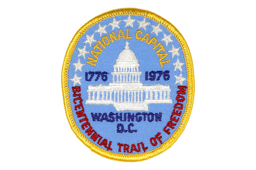 1976 Bicentennial Trail of Freedom Patch