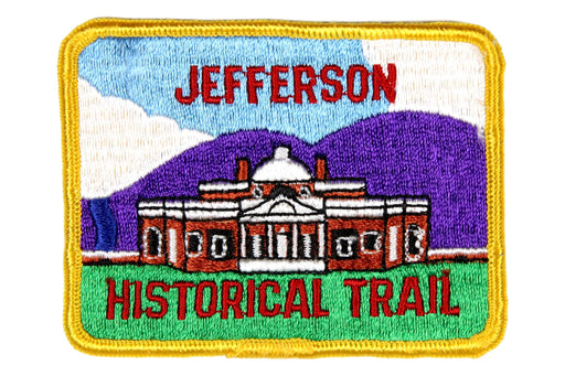 Jefferson Historical Trail Patch
