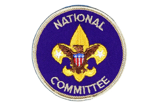 National Committee Patch Twill Material
