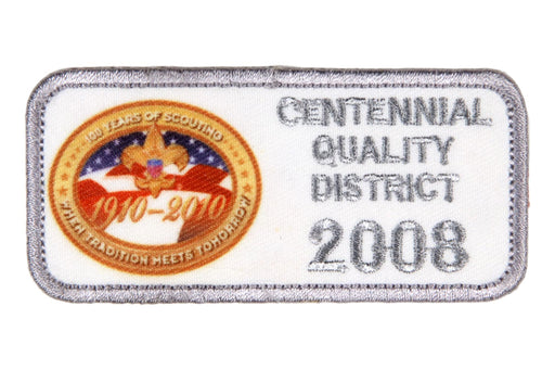 2008 Centennial Quality District Patch
