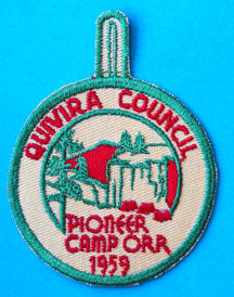 Camp Orr Patch 1959